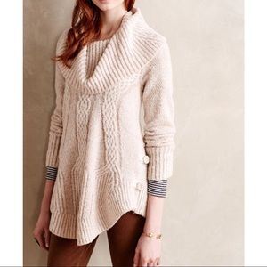 Anthropologie Angel of the North Cowl Boucle EUC